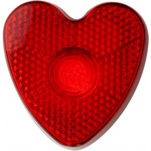Szív alakú villogó lámpa